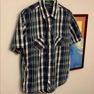 American Rag men's size Large button down shirt